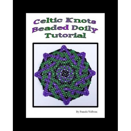 Celtic knot doily