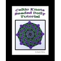 Celtic Knot Bead Netted Doily or Coaster tutorial