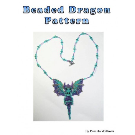 Dragon Necklace Bead Pattern Chart