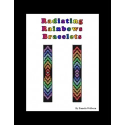 Radiating Rainbows Bracelet Bead Pattern Charts