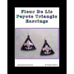 Fleur Triangle Earring Beading Tutorial
