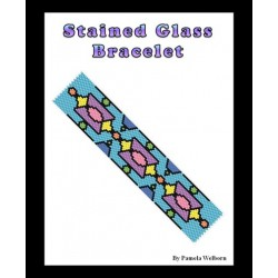 Stained Glass Bracelet Pattern Chart