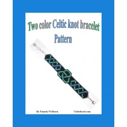 Two Color Celtic Knot Bracelet