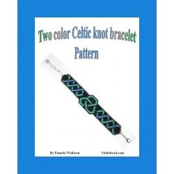 Two Color Celtic Knot Bracelet