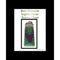 Deer Silhouette Lighter Cover chart