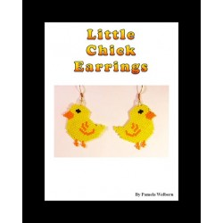Little Chick Earring Beading Pattern