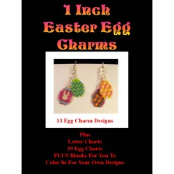 Easter Egg Charm Pattern Set Beading Patterns