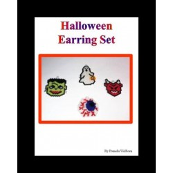 Halloween Charm Pattern Set Beading Patterns