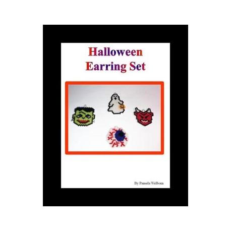 Halloween Charm Pattern Set Beading Patterns