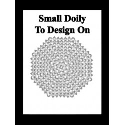 Small Doily to Color and Design From