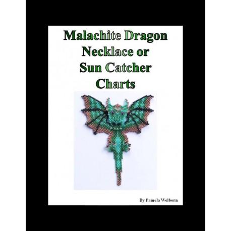 Malachite Beaded Dragon Pattern Charts
