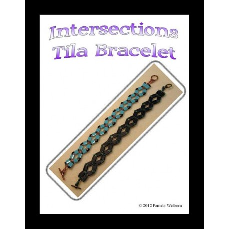 Tila Intersections Bracelet Tutorial