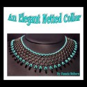 An Elegant Netted Collar Necklace Tutorial