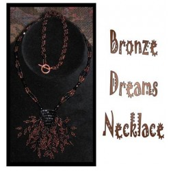 Bronze Dreams Necklace Tutorial