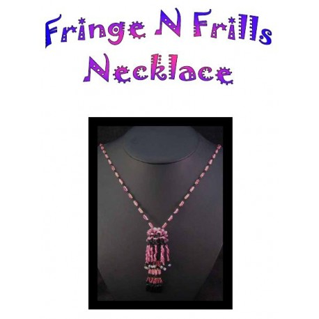 Fringe N Frills Necklace Tutorial