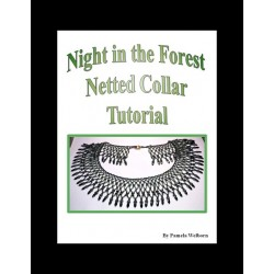 Night in the Forest Netted Collar Tutorial