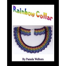 Rainbow Collar Necklace Tutorial