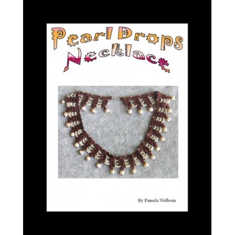 Pearl Drops Saraguro Style Collar Necklace Tutorial