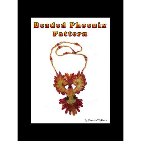 Phoenix Necklace Bead Pattern Chart