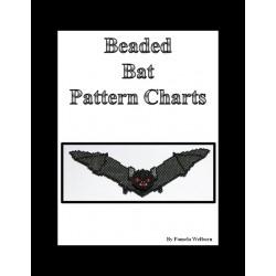 Batty Necklace Bead Pattern Chart