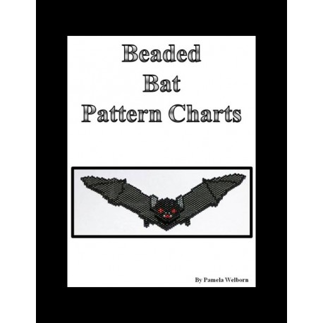 Batty Necklace Bead Pattern Chart