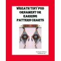 Wreath 3D Peyote Pod earring or tiny ornament pattern