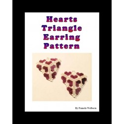 Hearts Triangle Earring Pattern