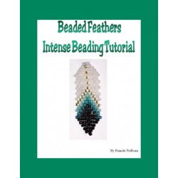 Beaded Feather Earring - Intense Tutorial