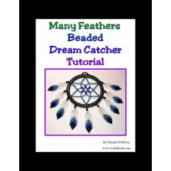 Many Feathers Beaded Dream Catcher Tutorial