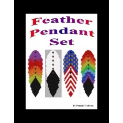 Feathers Pendant Pattern Set