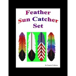 Feathers Suncatcher Bead Pattern Set