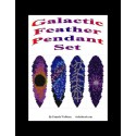 Galactic Feathers Pendant Bead Pattern Set