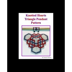 Knotted Hearts Triangle Pendant Pattern