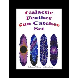 Galactic Feathers Suncatcher Pattern Set