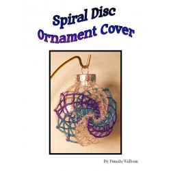 Spiral Beaded Disc Ornament Cover Tutorial