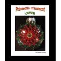 Poinsettia beaded Disc Christmas Ornament Cover Tutorial