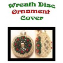 Wreath beaded Ornament Cover Tutorial