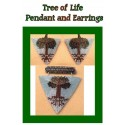 Tree of Life Triangle Pendant & Earring Pattern
