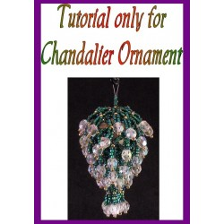 Chandelier Beaded Ornament Tutorial