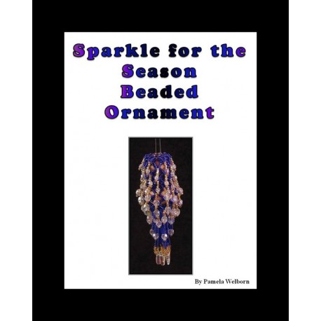Sparkle for the Season Beaded Ornament