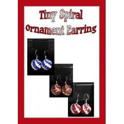 Tiny Beaded Ornament Earring Tutorial