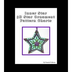 Inner Star Beaded 3D Star Pendant pattern