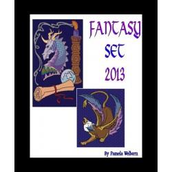Fantasy Pattern Set Beading Patterns