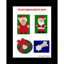 Flat shaped beading Ornament pattern set