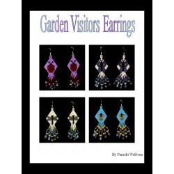 Garden Visitors Earring Beading Pattern Set