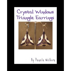 Crystal Windows Triangle Earring Tutorial