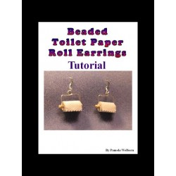 BEADED Toilet Paper Earring Tutorial
