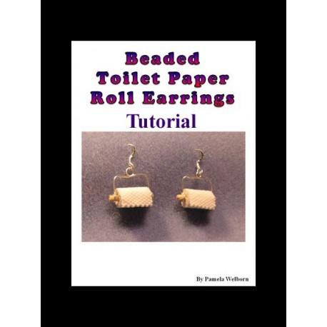 BEADED Toilet Paper Earring Tutorial