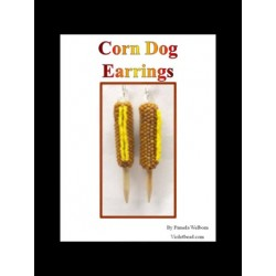Corn Dog Earring Tutorial