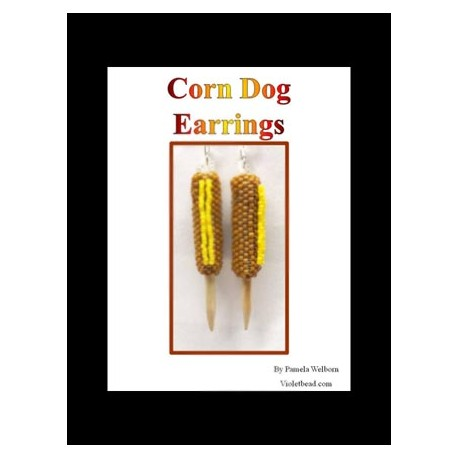 Corn Dog Earring Tutorial